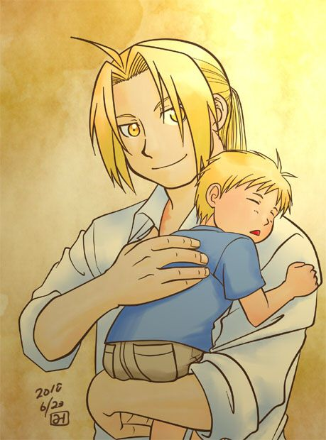 Edward Elric And Winry Rockbell Married CAN I JUST HAVE A WHOL...