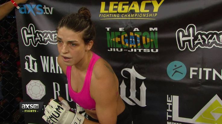 Mackenzie Dern Scores Her Second Win With a Crazy Submission | Legacy 61...