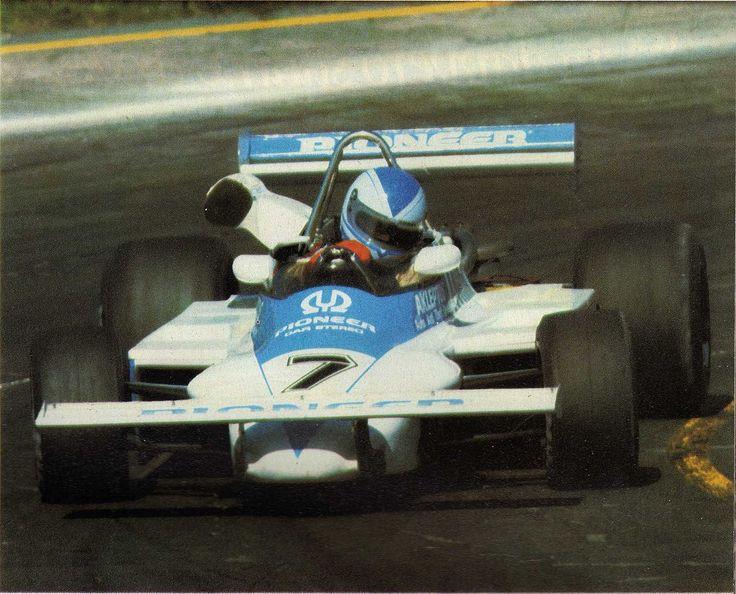Riccardo Paletti - March 812 BMW/Rosche - March Onyx Racing Team - XXII Gran Premio di Roma 1981
