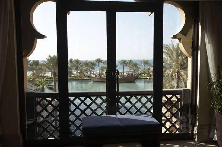 Madinat Jumeirah - View of the waterway from the hotel room  #uae #middleeast #dubai #resort #accommodation #hotel #relax #experience #luxury #travel #traveltherenext #madinetjumeirah