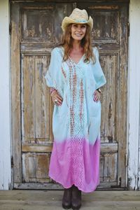 Timaru Maxi Cover Up Pink