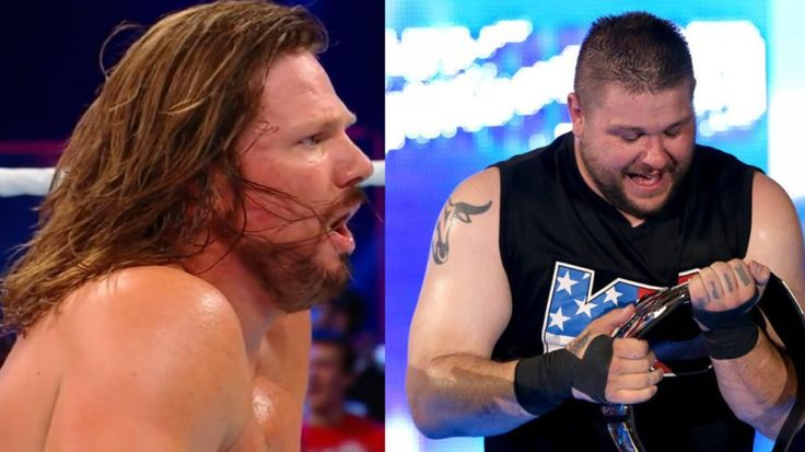 AJ Styles was supposed to win his match against Kevin Owens at WWE Battleground
