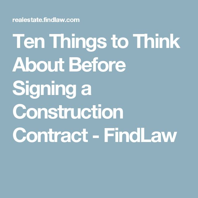 The 25+ best Construction contract ideas on Pinterest Contractor - construction contract forms