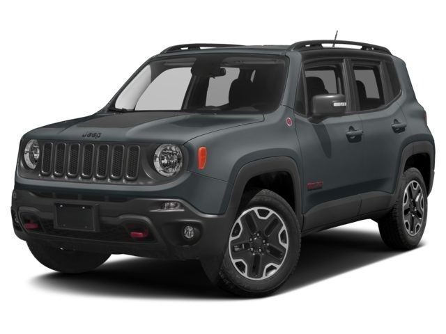 2017 Jeep Renegade Trailhawk 4x4 SUV Anvil For Sale in Medford OR | Stock: HPE46258