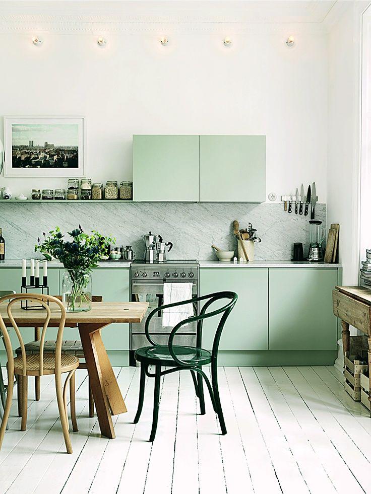 Inspiration maison vert for Inspiration deco maison