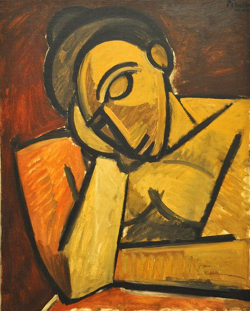 Picasso, Repose,1908, oil on canvas. MOMA, NYC