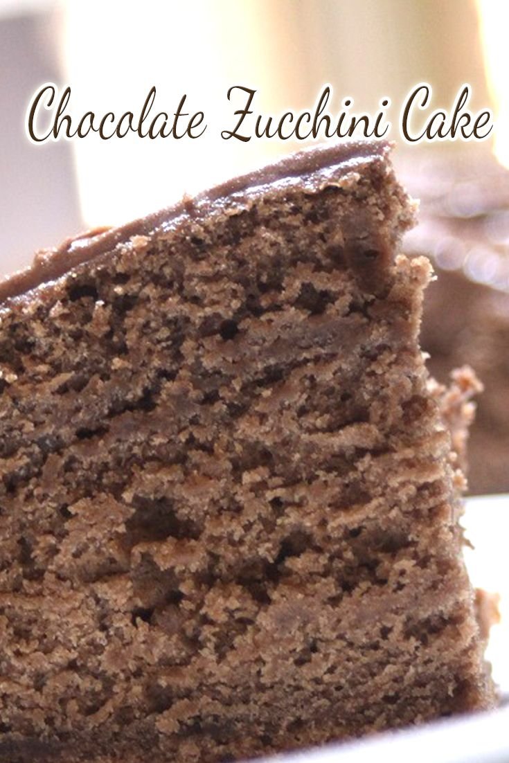 Yes this cake is a chocolate zucchini cake and yes, it is awesome!