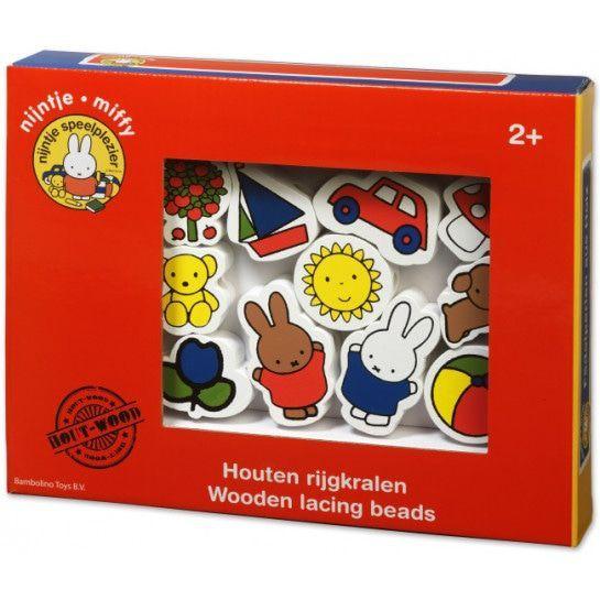 Bambolino Toys Houten Nijntje Rijgkralen 33096 | MamaLoes Babysjop