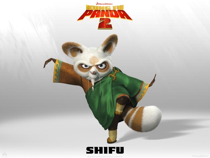 Master Shifu (Voice by  Dustin Hoffman)