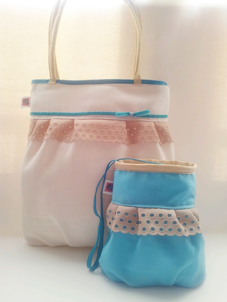 Conjunto tresCandela, bolso de mujer y niña.