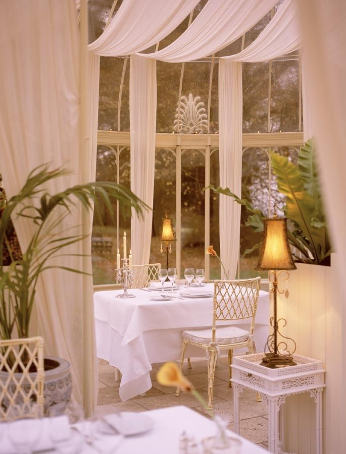Conservatory at Longueville House