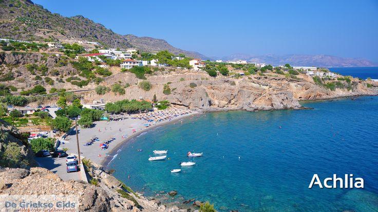 Diavoorstelling 20 mooie stranden op Kreta