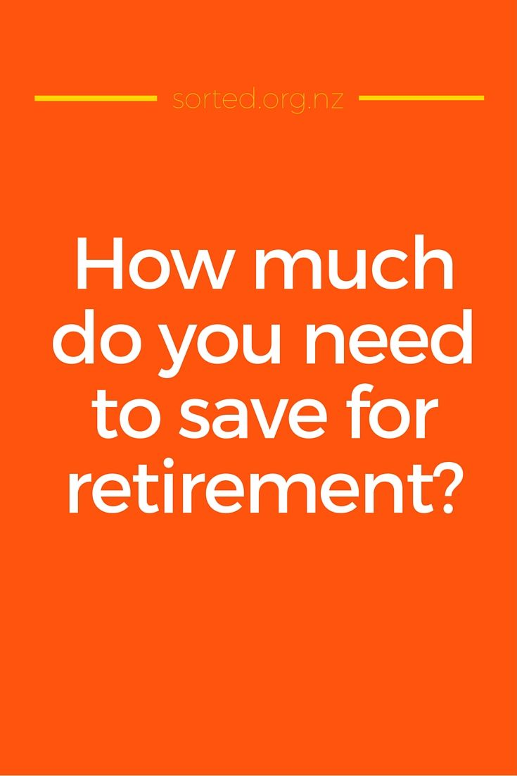 How much money do you really need to retire in NZ? Find out how much you need to save for retirement.