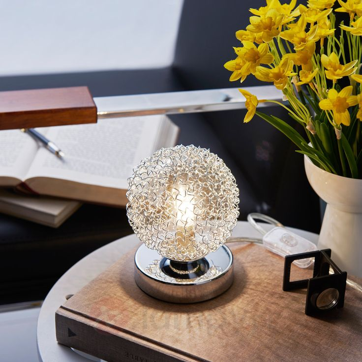 Mała lampa stołowa Ticino, LED G9 9620785