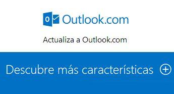 Publicidad del correo Gmail vs Outlook