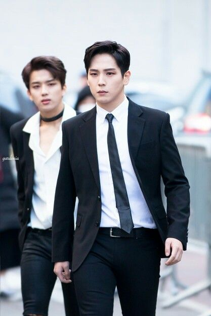 Youngjae and Himchan B.A.P