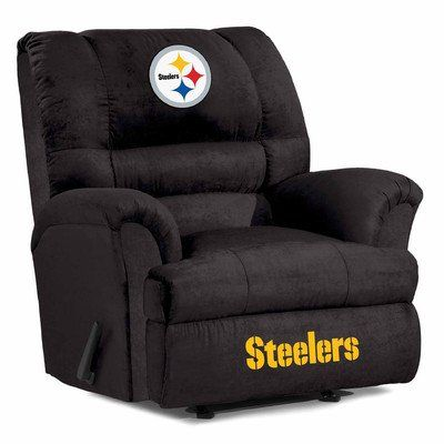 Pittsburgh Steelers Big Daddy Microfiber Recliner WILL BE IN THE MAN CAVE