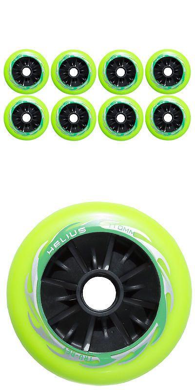 Wheels 159064: 110Mm Inline Roller Skate Wheels (Set Of 8 Wheels) New Hub! -> BUY IT NOW ONLY: $79 on eBay!