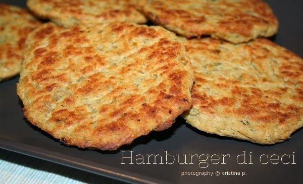 La zucca capricciosa: Hamburger di ceci