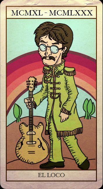 EL LOCO Tarot Beatle by dajeko.deviantart.com
