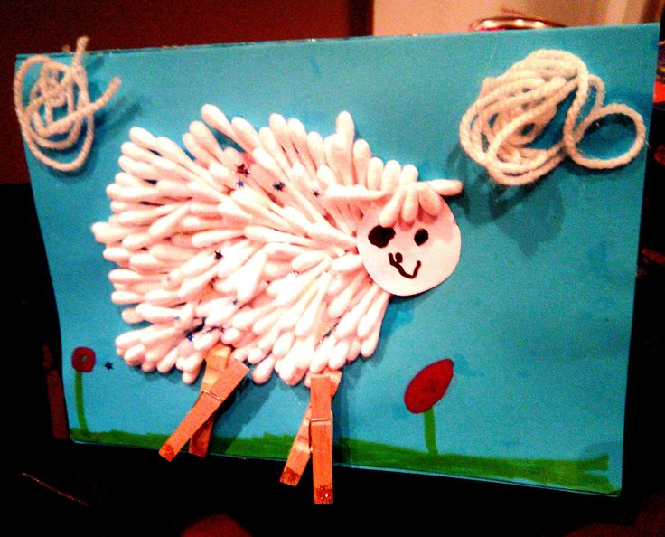 Easter Sheep card- craft