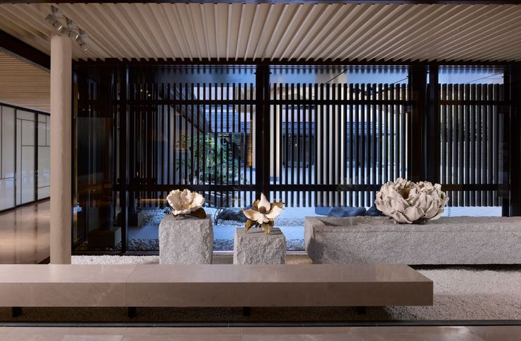 Lobby lounge at the Four Seasons Kyoto by HBA Design