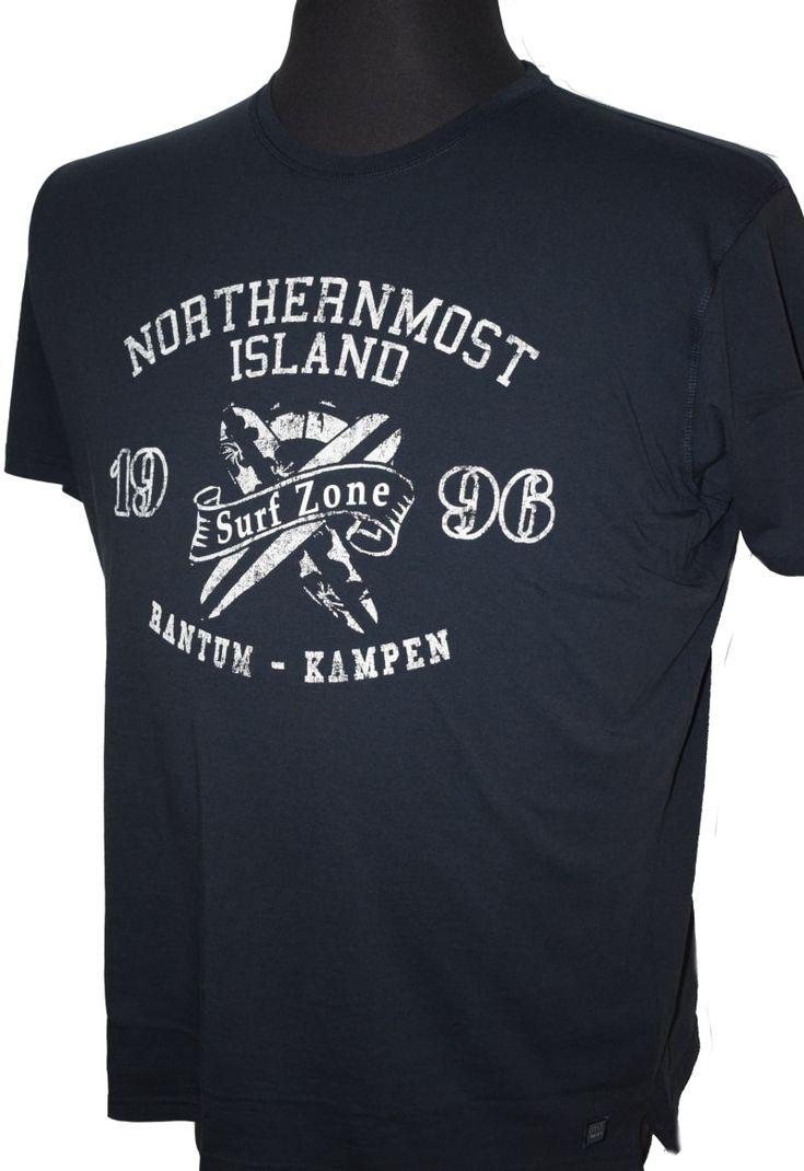 """Kitaro T-Shirt 181172-210 """"Surf Zone"""" marine"""