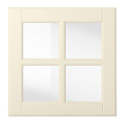 IKEA - BODBYN, Staklena vrata, krem, 40x40 cm, , BODBYN vrata imaju okvir i zaobljenu ploču koja im daje izražajni, tradicionalni karakter. Krem boja tvojoj kuhinji daje dašak tople, svijetle boje.Lakirana su vrata glatka i bez spojeva, otporna su na vlagu i mrlje te se vrlo lako čiste.25-godišnja garancija. Pročitajte više u garantnoj brošuri.Vrata možete montirati na desnu ili lijevu stranu.