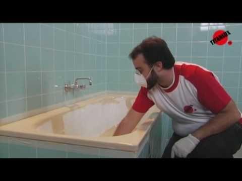 Cómo pintar los azulejos del baño - YouTube