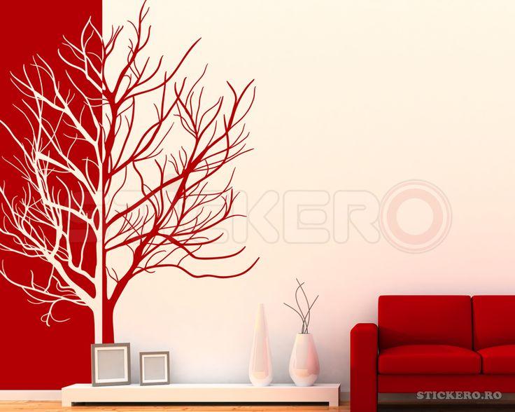 Copac - sticker decorativ - Stickere decorative de perete - stickere auto - wall sticker
