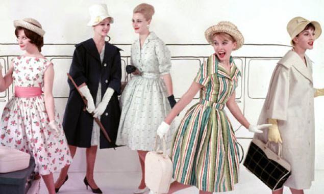 Платья 50-х годов - Ярмарка Мастеров - ручная работа, handmade