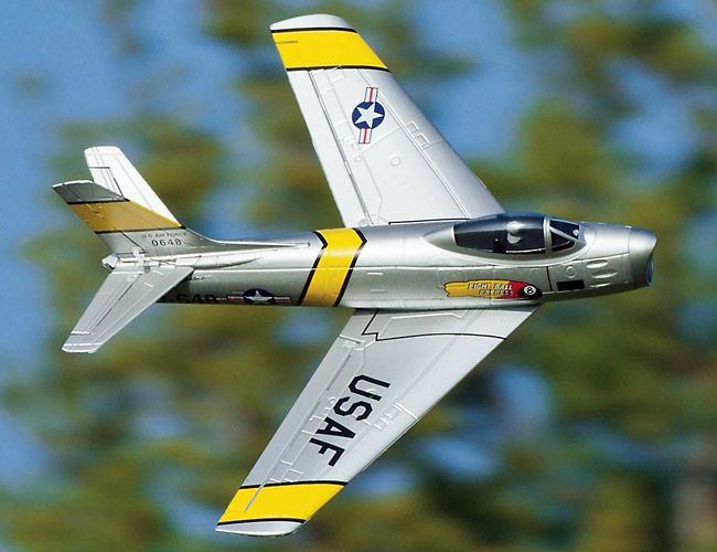 Great Planes F-86 Sabre Jet