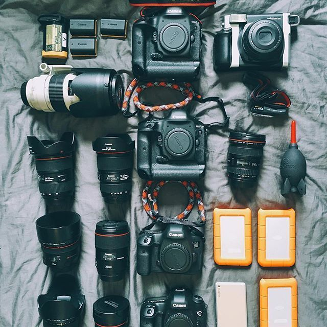 #MyCameraBag by @sascha.tay ・・・ With it being national camera day I thought I'd do another one of these and show you guys my cameras and lenses.