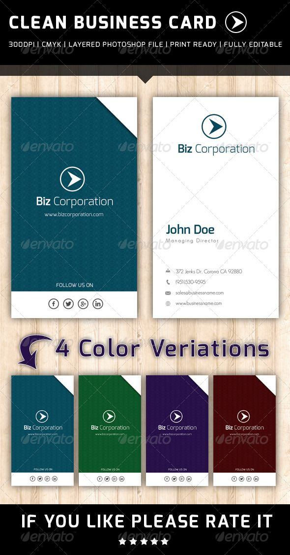 Business cards printing in corona ca choice image card design and 99 best print templates images on pinterest print templates font clean business card graphicriver reheart choice reheart Image collections