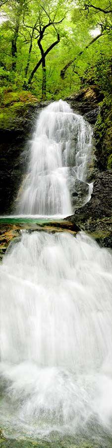 Basin Falls, Uva Canyon. Santa Clara, California.