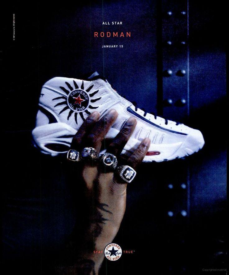 Dennis Rodman- Converse