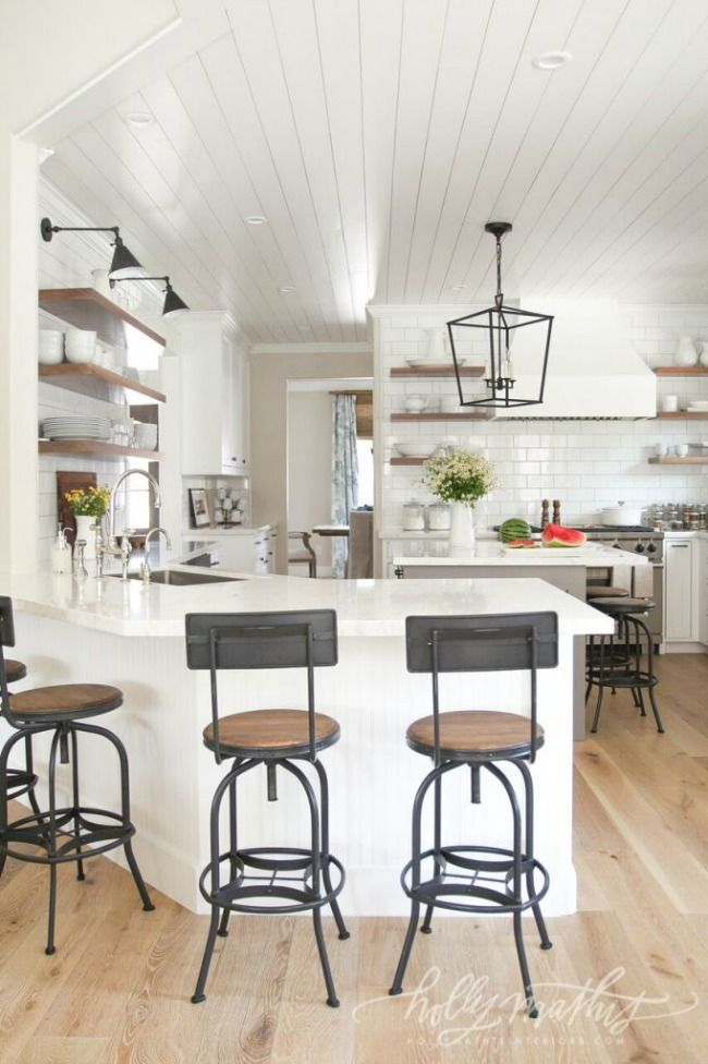 colorful modern farmhouse interiors | Modern Farmhouse Kitchens for Gorgeous Fixer Upper Style