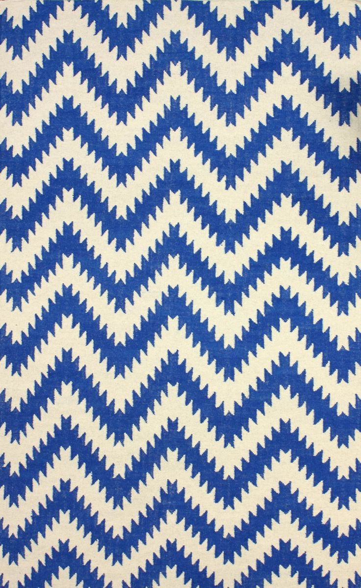 best rugs images on pinterest  for the home area rugs and room - tuscan chevron blue rug