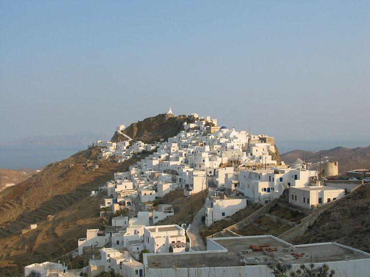 Serifos island Chora Cyclades Greece #Serifos #Cyclades