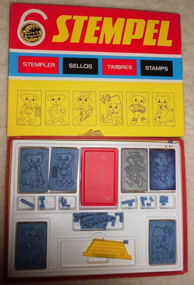DDR Kinderstempelkasten ***mein beliebtestest Spielzeug aus dem Schulhort...