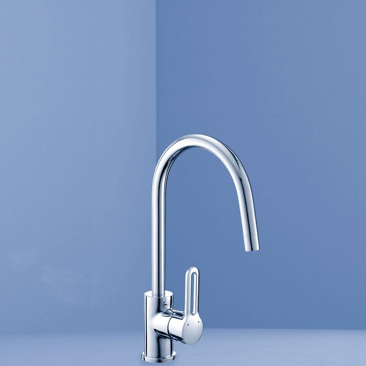 Caroma WELS 4 Star 7.5L/Minute Cirrus Swivel Sink Mixer ...