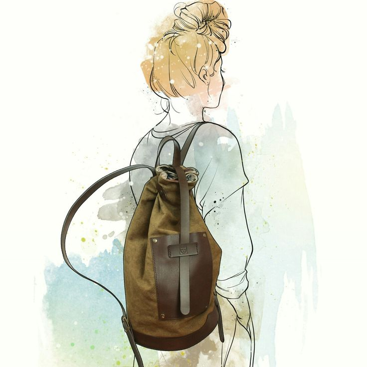 Bottiglito backpack! Free style for original people!!