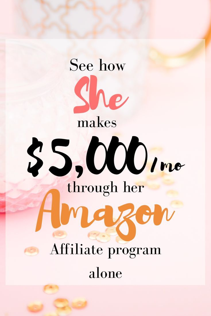 """This hard working blogging mom earns $5,000 a month from her Amazon affiliate program. """"Cracking the Code on the Amazon Associate Program"""" eBook written by Ashli Sweat is what you need if you want to crank up your Amazon affiliate game. It helped me tremendously. #affilink"""