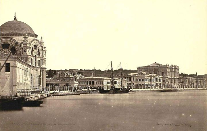 Dolma baghche palace & mosque - istanbul - Dolmabahçe sarayı ve camisi