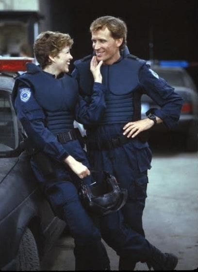 Robocop - officers Lewis and Murphy