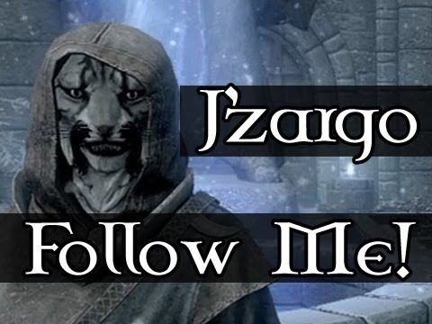 Follow Me!: J'zargo with TrendKiLLv01 (Skyrim Gameplay/Commentary)