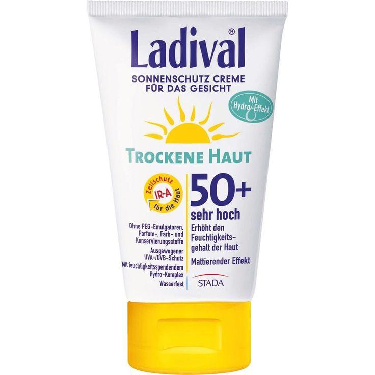 LADIVAL trockene Haut Creme f.d.Gesicht LSF 50+:   Packungsinhalt: 75 ml Creme PZN: 11168524 Hersteller: STADA GmbH Preis: 11,94 EUR…