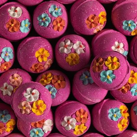 "Lush ""Think Pink"" bath bombs one of my favourites! Feeling dull and gloomy. try this girly and spontaneous bath bomb that will kick you up a noch...."