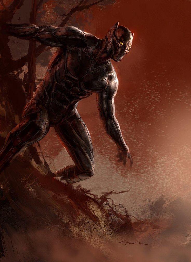 Guerra Civil – Divulgada nova arte conceitual incrível do Pantera Negra! - Legião dos Heróis