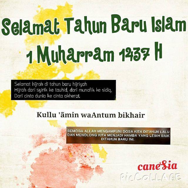 "caneSia mengucapkan ""Selamat Tahun Baru Islam 1 Muharram 1437 H""  www.roticanecanesia.blogspot.com | Twitter : @roticanecanesia | Facebook : caneSia | Delivery by GO-FOOD | Pengiriman luar kota by JNE  #tahunbaruislam #tahunbaruhijriah #1muharram1437h #1muharram #indonesian #moeslem #islam"